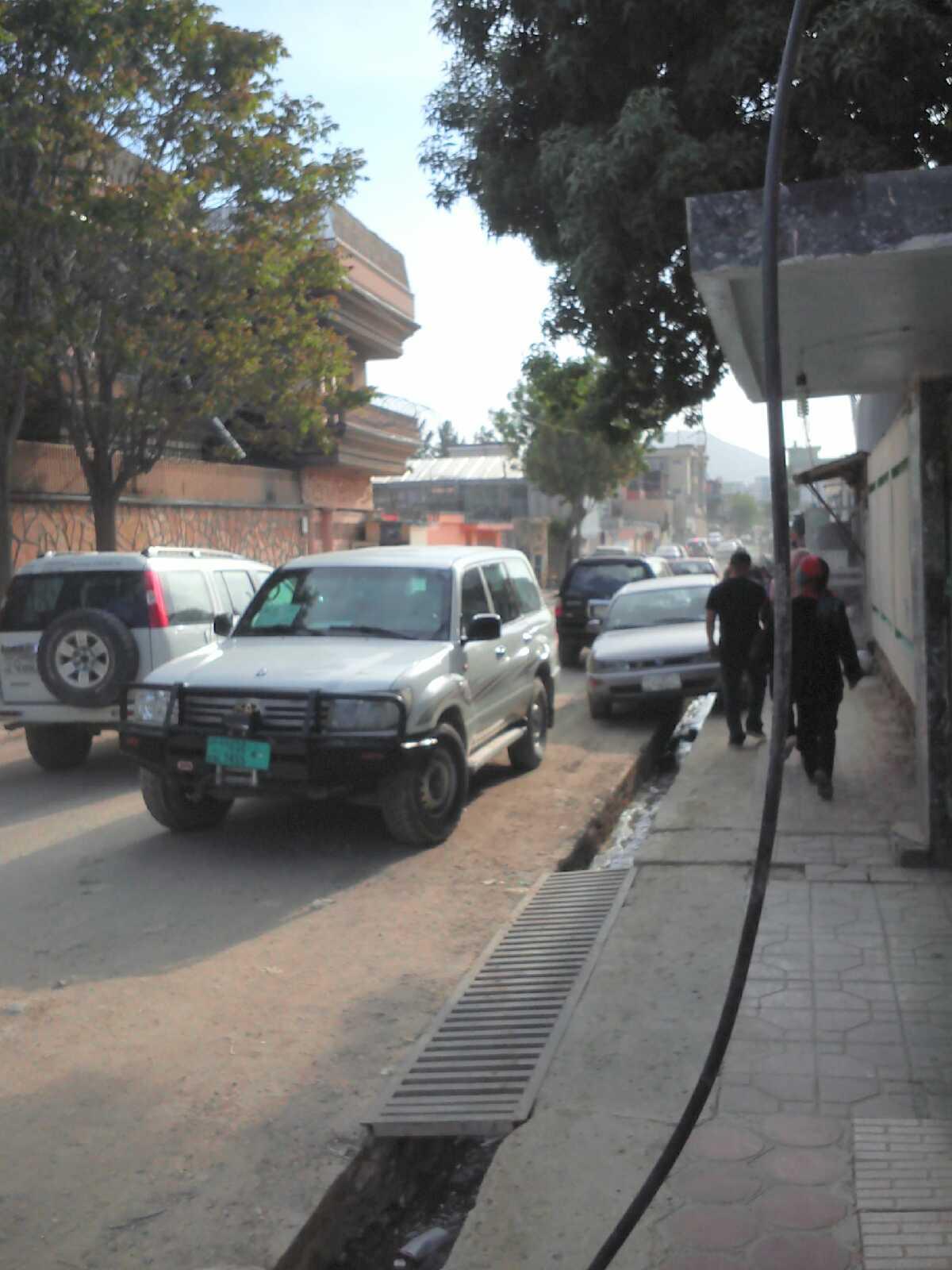 Ulica wdzielnicy Kabulu Wazir Akbar Khan