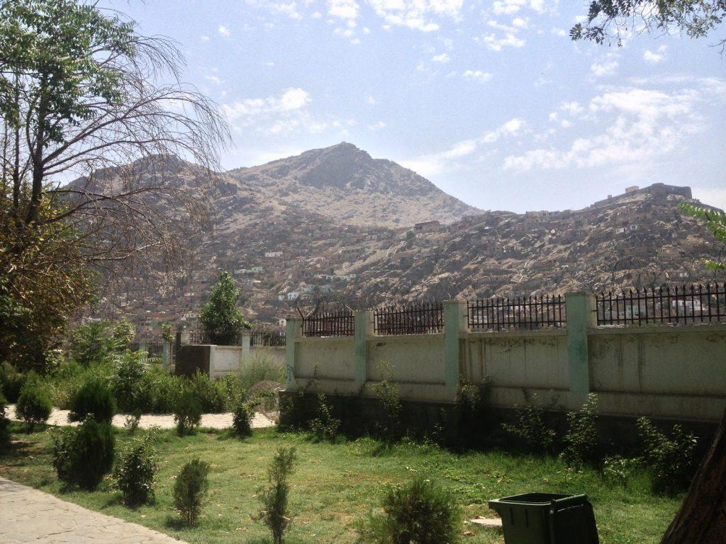 Góry otaczające Kabul widziane z Kabulskiego Zoo