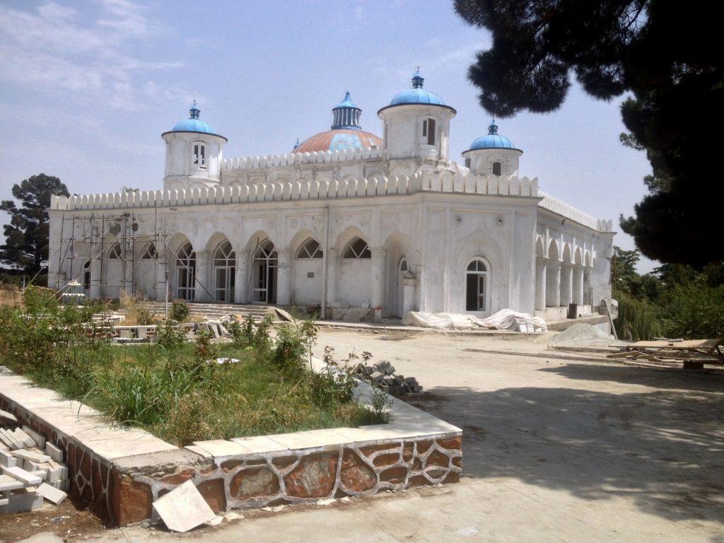 Letni Pałac Emira w ogrodzie Bagh-E-Bala - aktualnie pałacyk MSZ