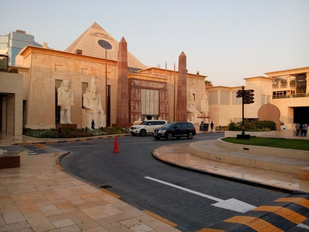 Centrum Handlowe udające Egipt - tylko w Dubaju