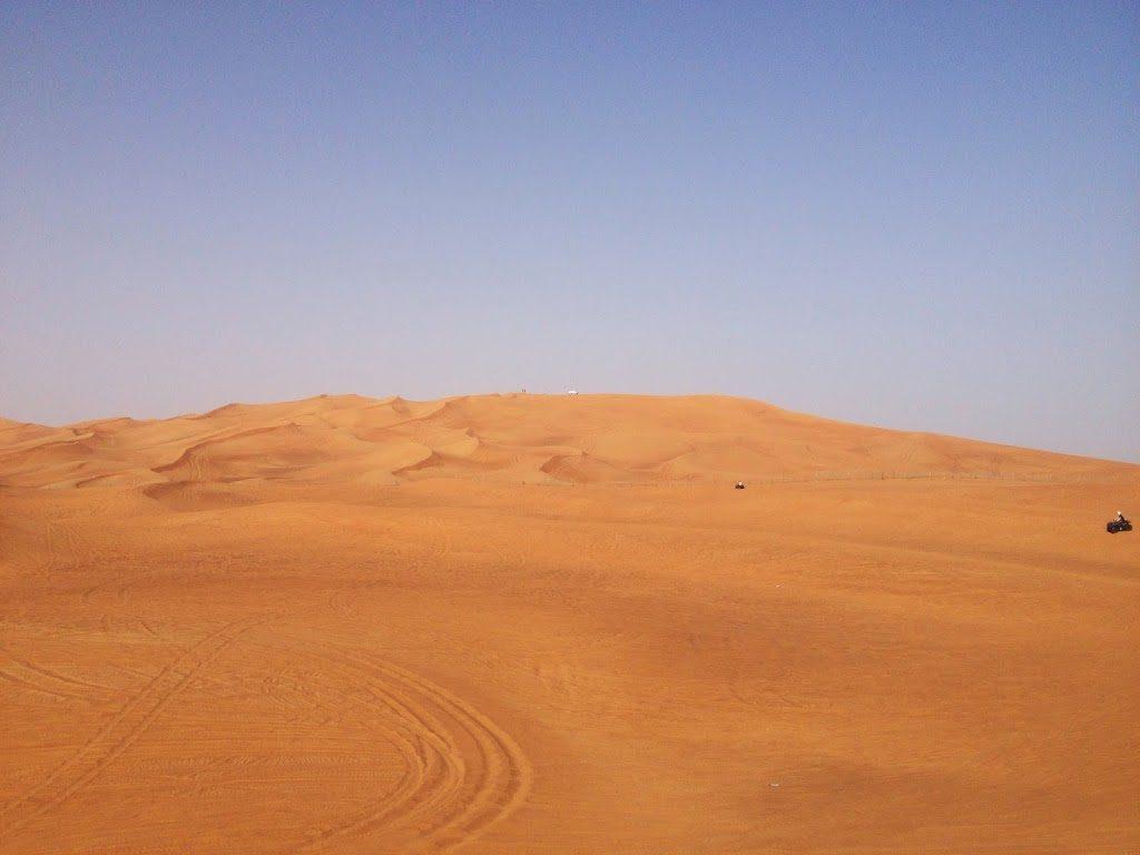 Pustynia w okolicach Dubaju
