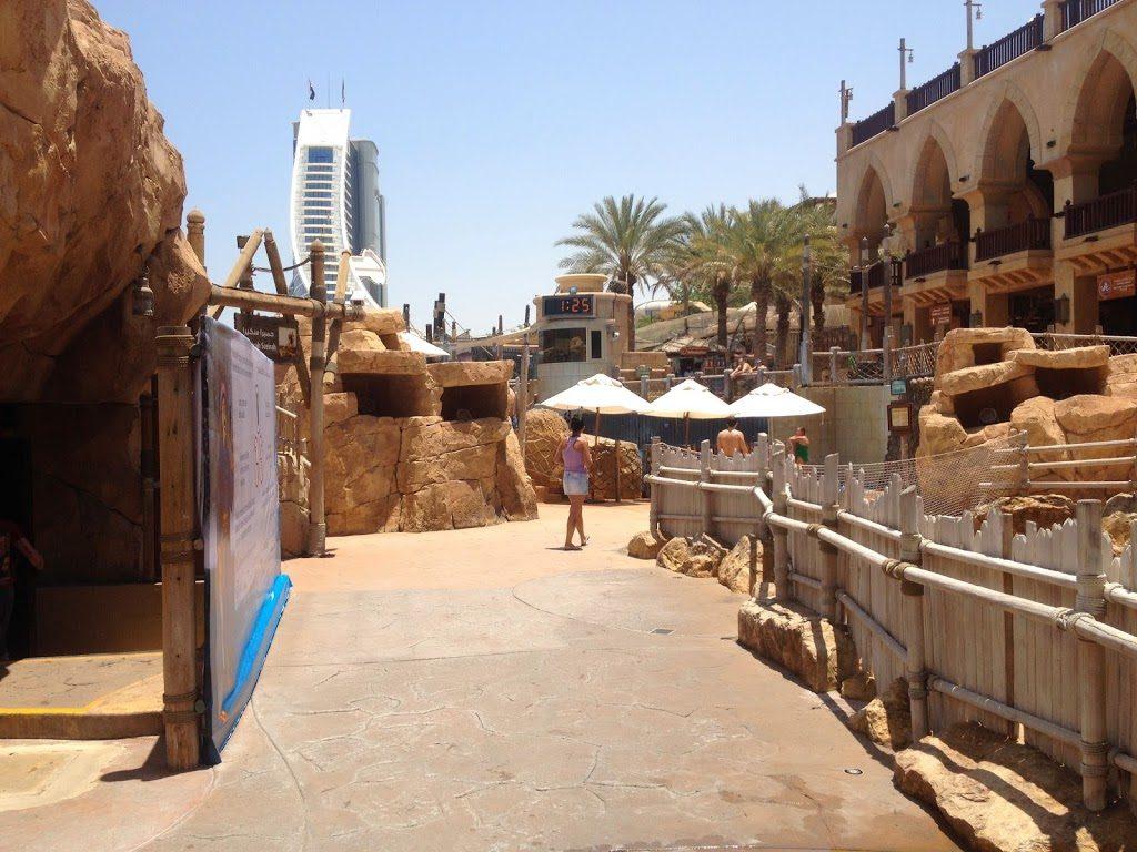 Park wodny Wild Wadi w Dubaju