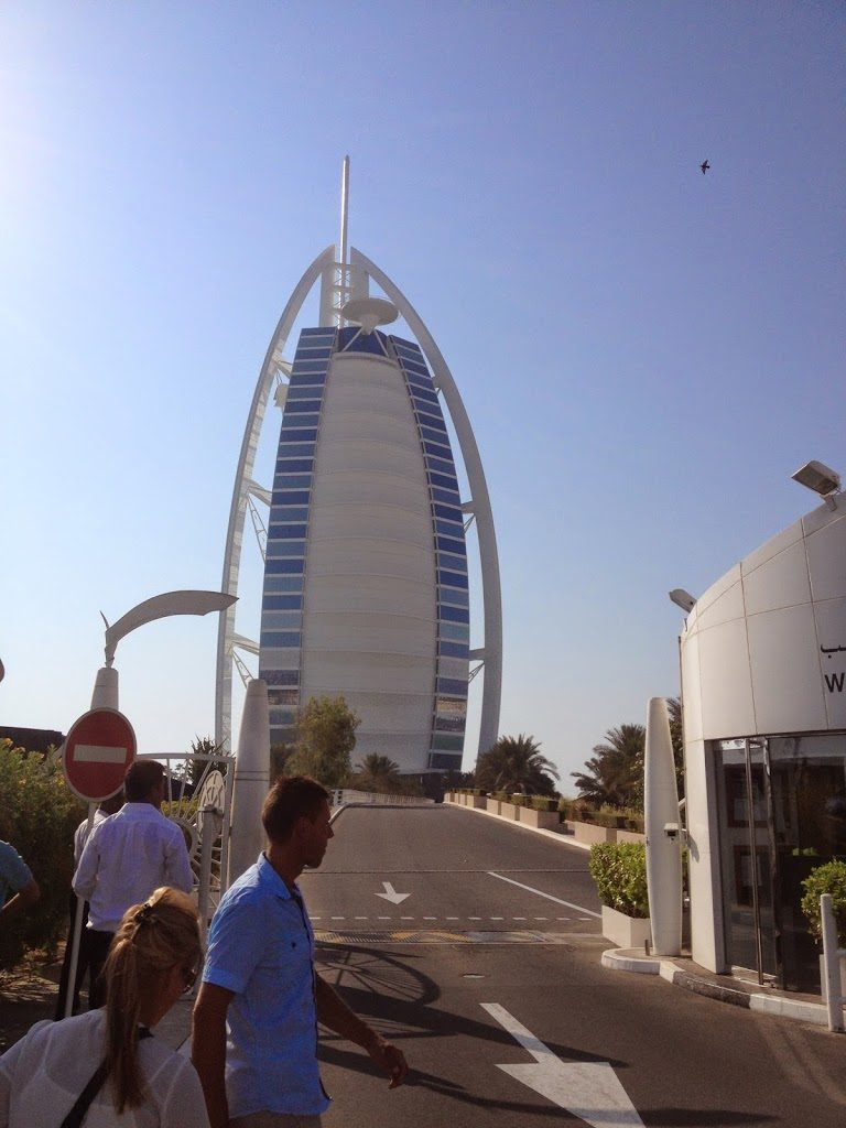 Hotel Burj Al Arab w Dubaju
