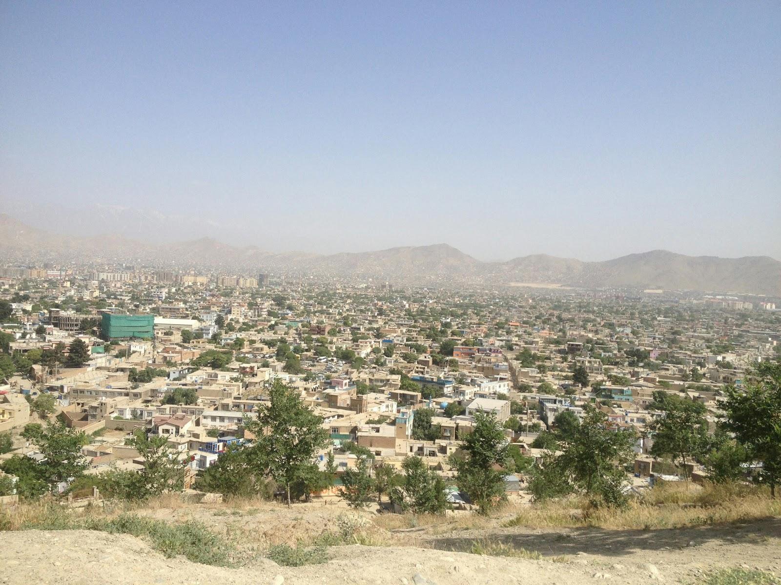 Widok ze Wzgórza Wazir Akbar Khan