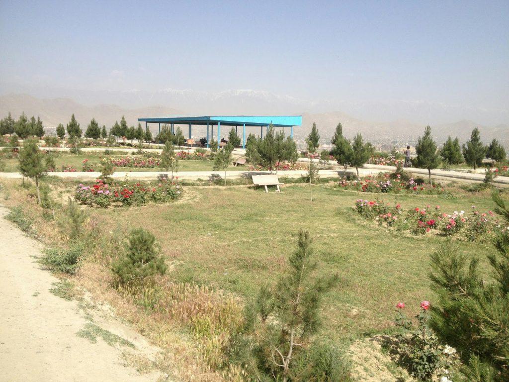 Ogród na szczycie wzgórza Wazir Akbar Khan