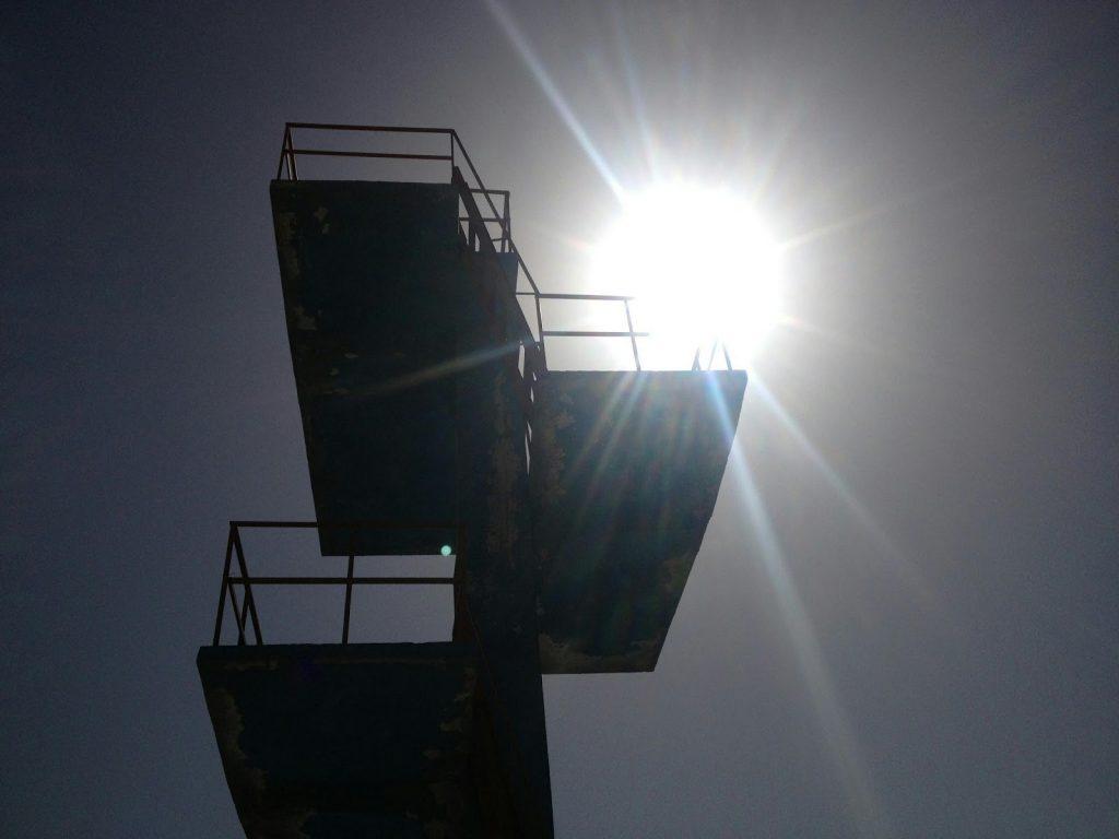Wieża do skoków do wody