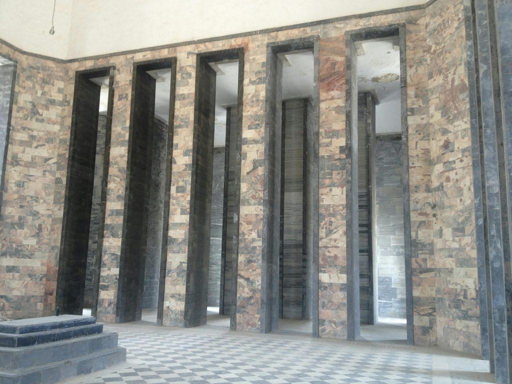 Wnętrze grobowca Mohammada Nader Szaha