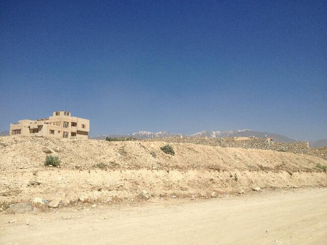 Standardowy widok okolic Kabulu