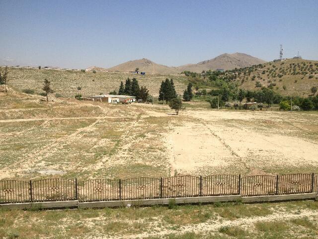 Pola w okolicach Kabulu w Afganistanie