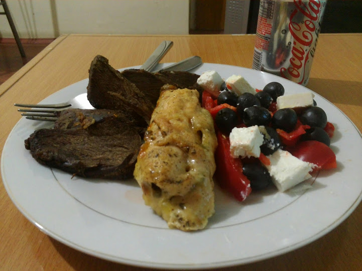 Jeden z pierwszych posiłków które zjadłem w Afganistanie