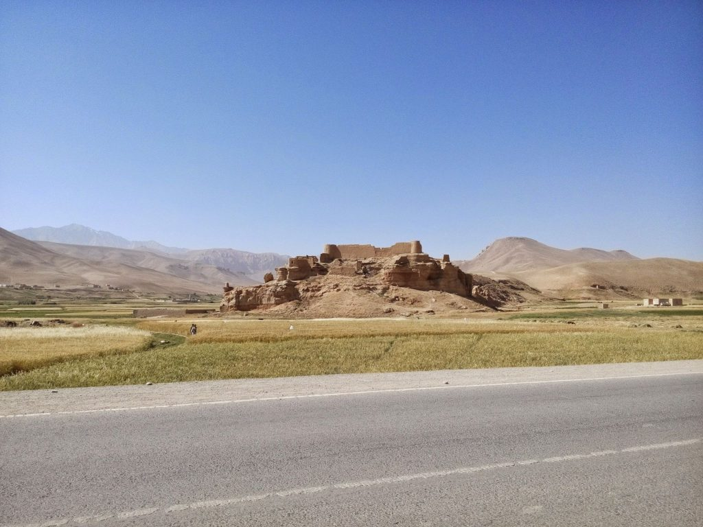 Fort przy drodze do Band-e-Amir