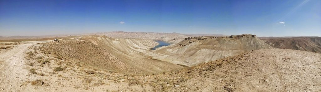 Panorama z jeziorem Band-E-Amir