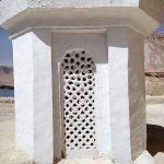 Komin na dachu meczetu