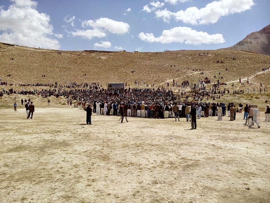 Szósta edycja festiwalu jedwabnego szlaku nad jeziorem Band-e-Amir w prowincji Bamyan w Afganistanie