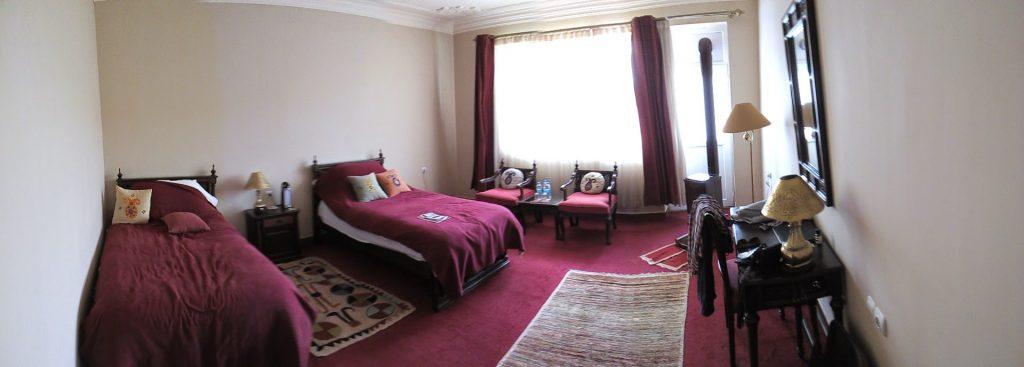Pokój w hotelu Silk Road