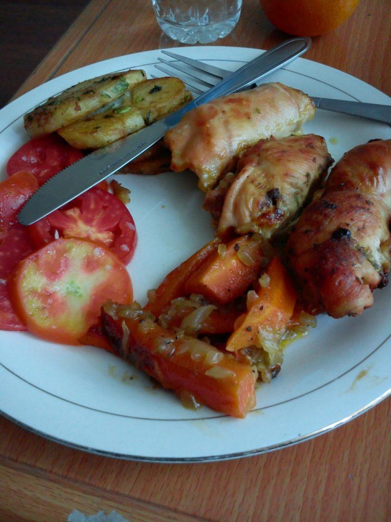 Kucharz który dla mnie gotował w Kabulu naprawdę się starał