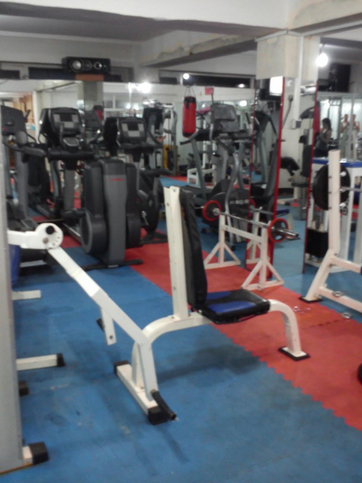 Prywatna siłownia którą miałem do dyspozycji będąc w Kabulu