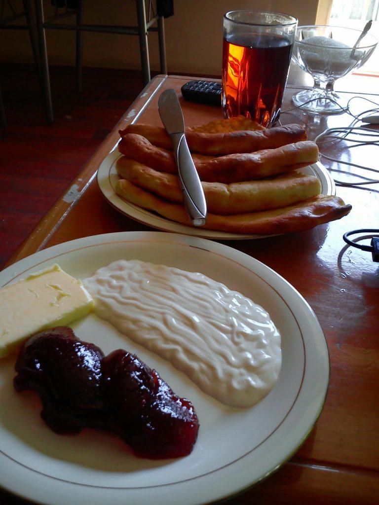 To białe na talerzu to śmietana gdyby ktoś pytał