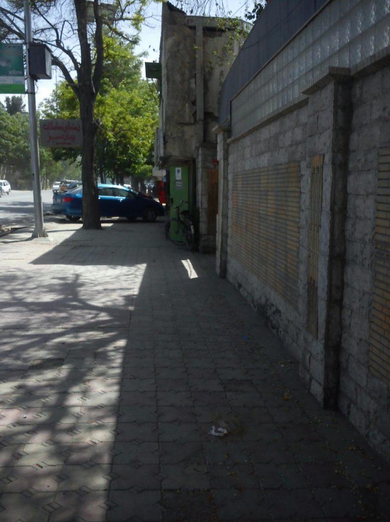 Ulica w dzielnicy Wazir Akbar Khan
