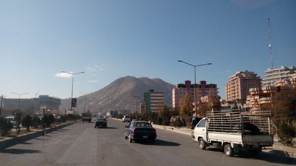 Drogi w Kabulu to prawdziwe autostrady
