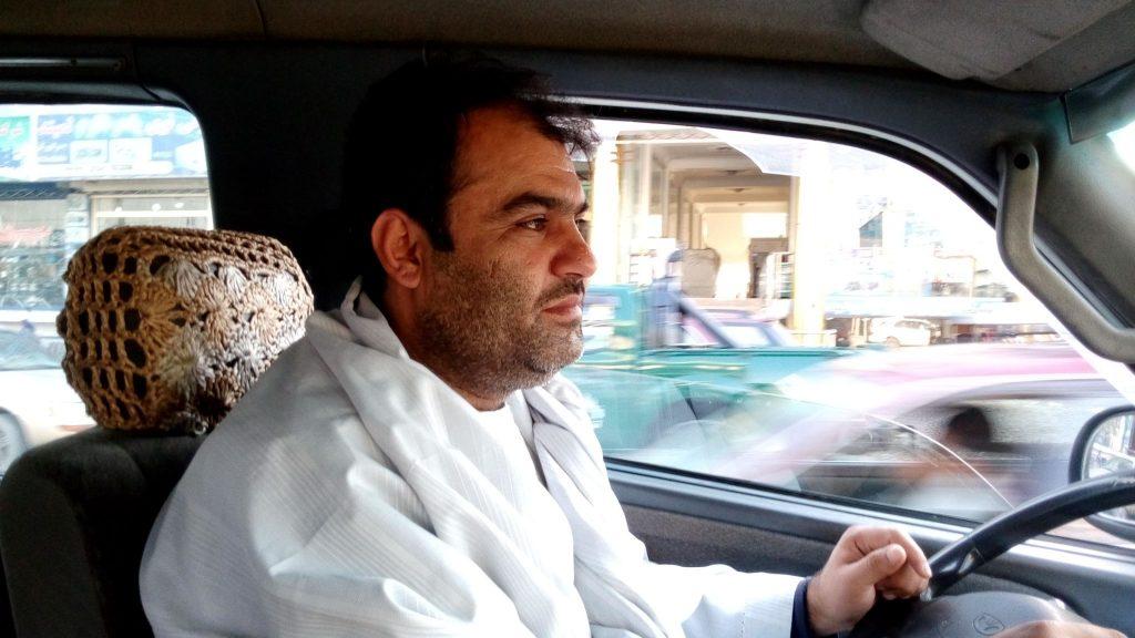 Mój kierowca w Kabulu