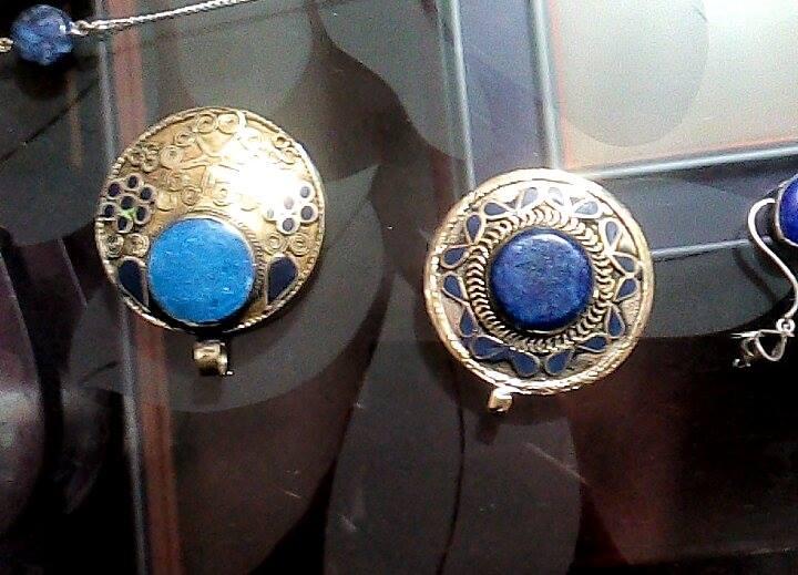 Biżuteria z lapisem, Pamiątki z Kabulu