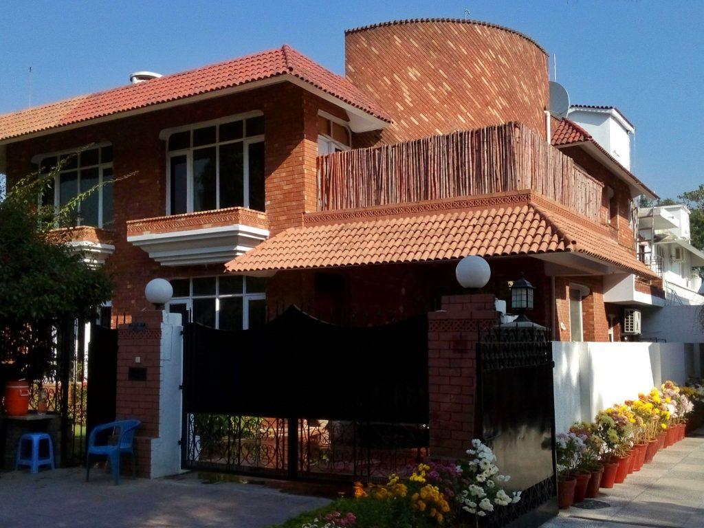 Dom jednorodzinny z cegły w Islamabadzie