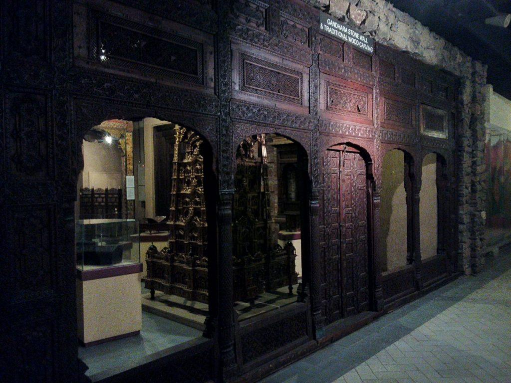 Fragment wystawy z Muzeum Dziedzictwa w Islamabadzie