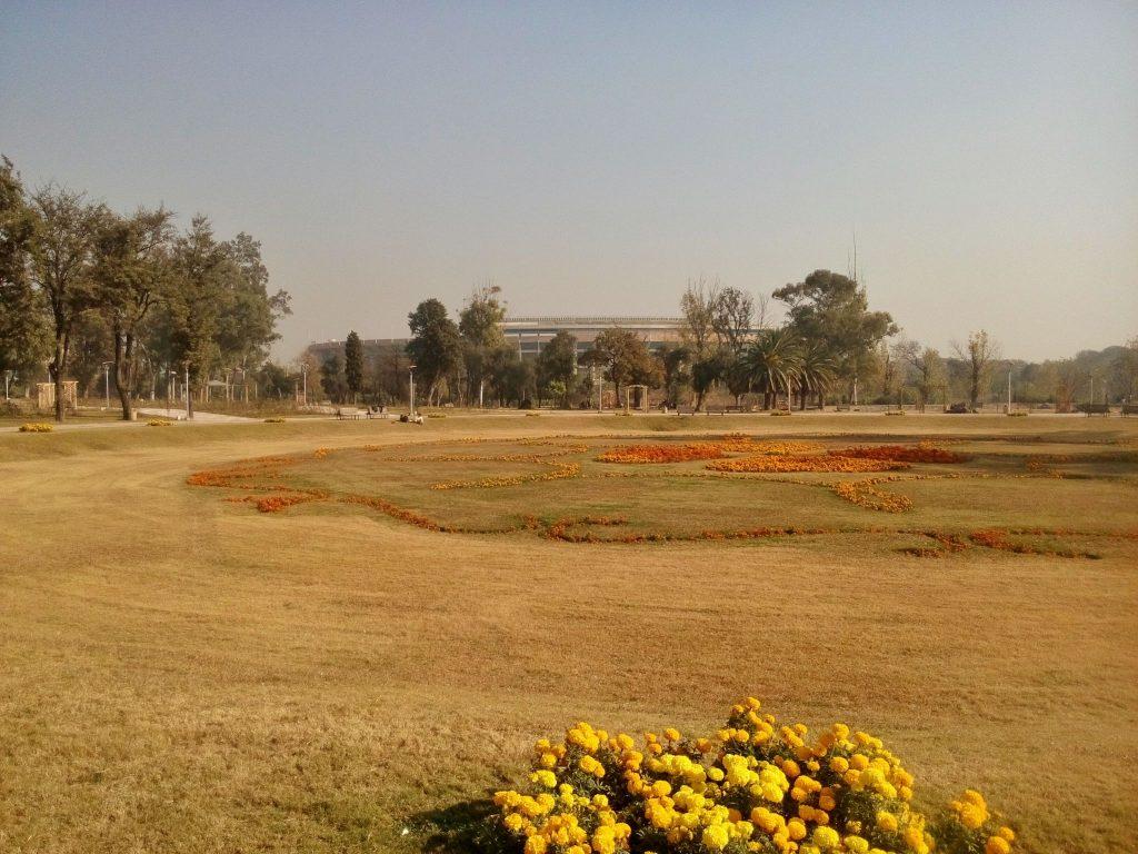 Park różany i jaśminowy, grudzień to jednak zły moment na wizyte