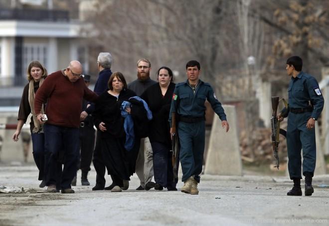 "pracownicy ""Roots of Peace"" ewakuowani z miejsca zdarzenia po ataku"