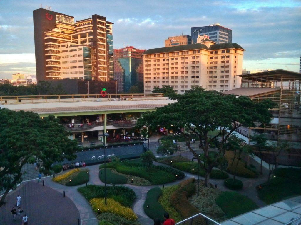 Ayala Mall w Cebu na FIlipinach