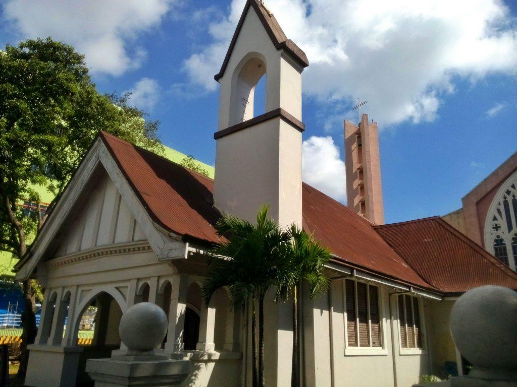 Jeden z setek kościołów w Cebu na Filipinach