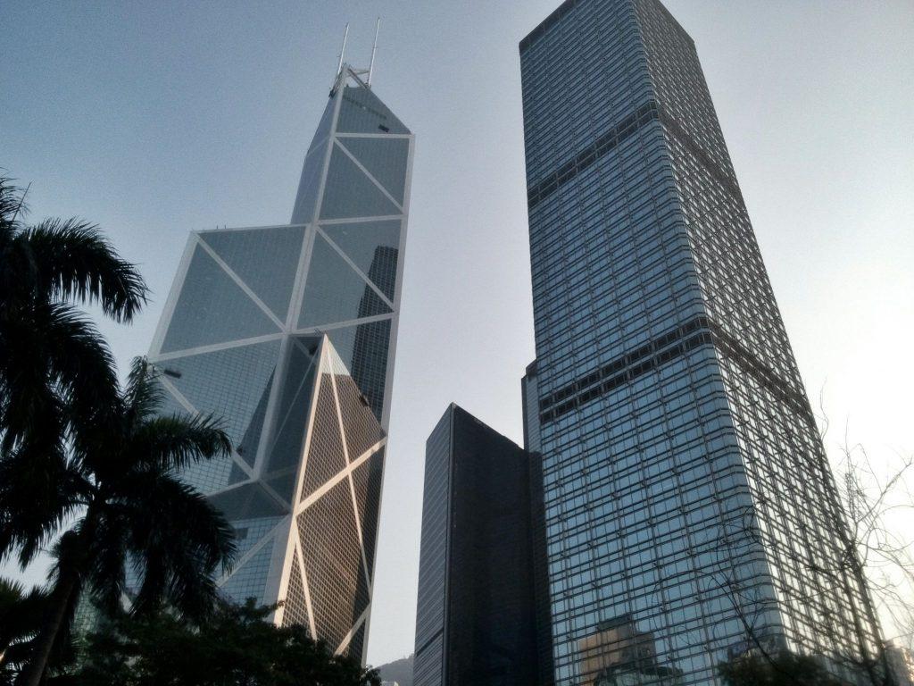 Wieżowiec Bank Of China w Hong Kongu