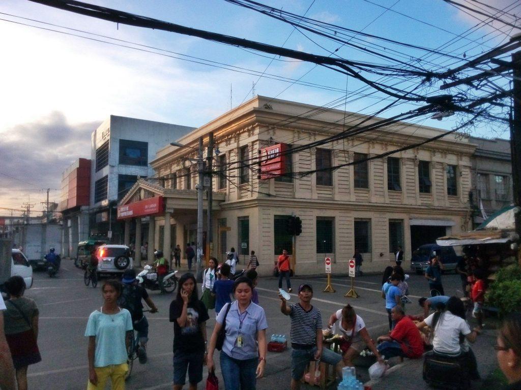 Widok na miasto Cebu na Filipinach
