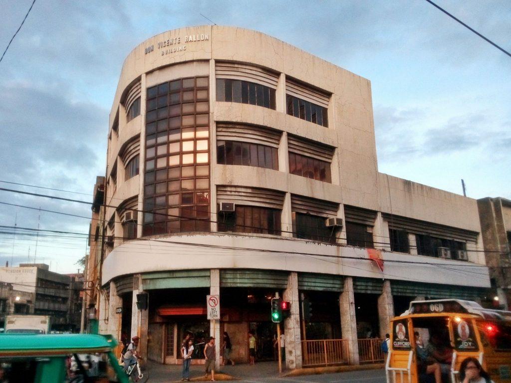Budynek w mieście Cebu na Filipinach