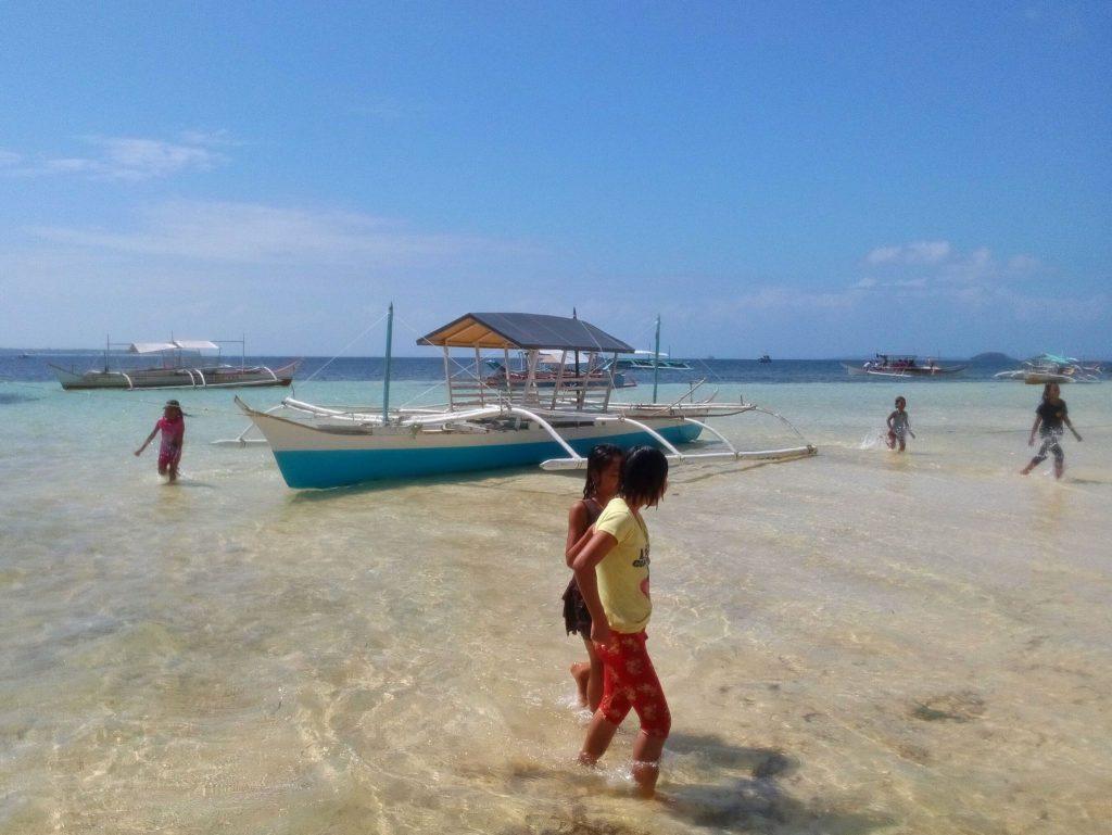 Plaża w General Luna na wyspie Siargao