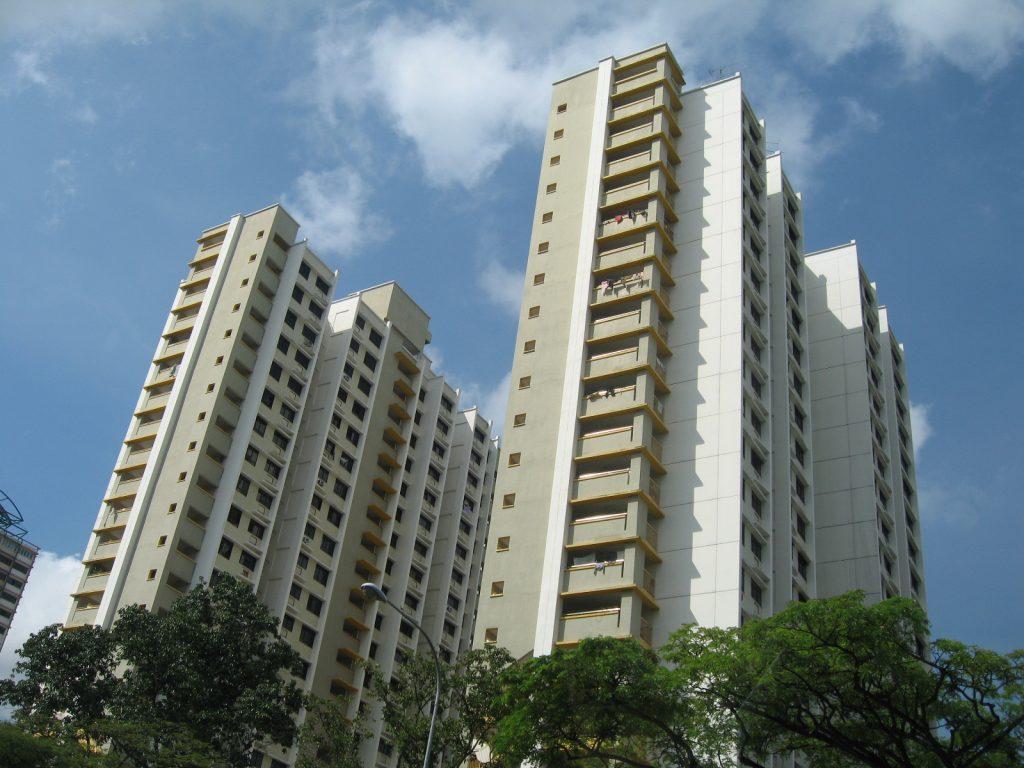 Blok mieszkalny HDB w dzielnicy Clementi, Singapur