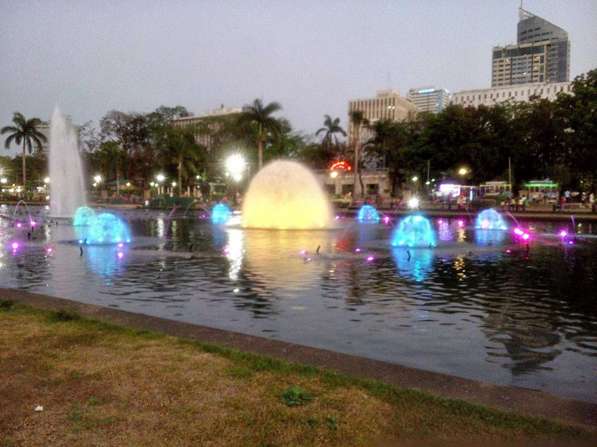 Fontanna obok Intrmuros