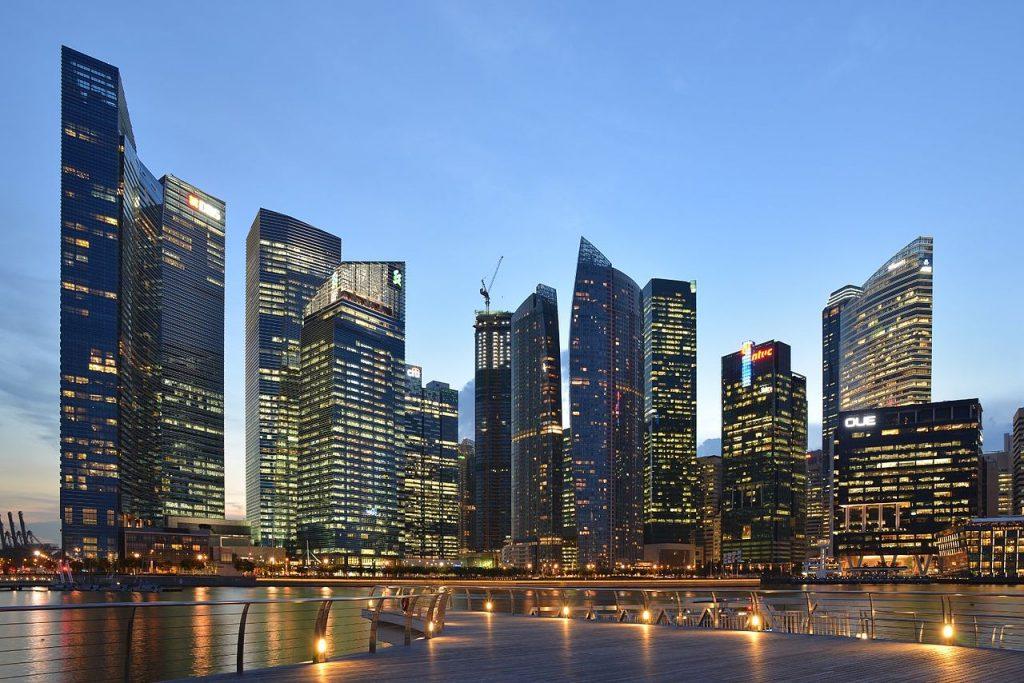 Centralna Dzielnica Biznesu w Singapurze
