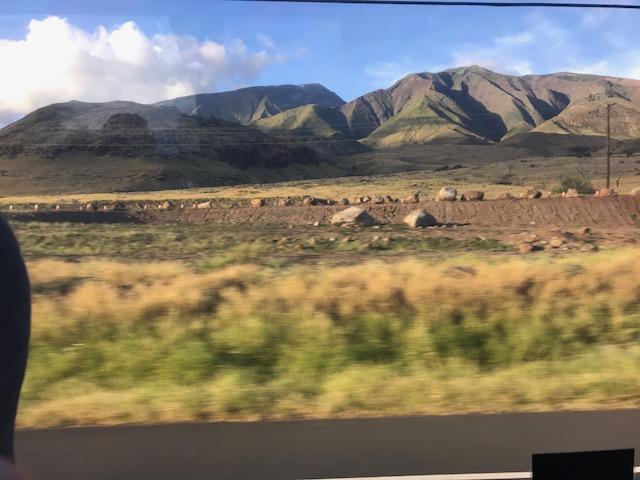 Widok na formację wulkaniczną na Maui na Hawajach