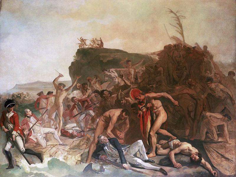 Śmierć Jamesa Cooka - Johan Zohanny