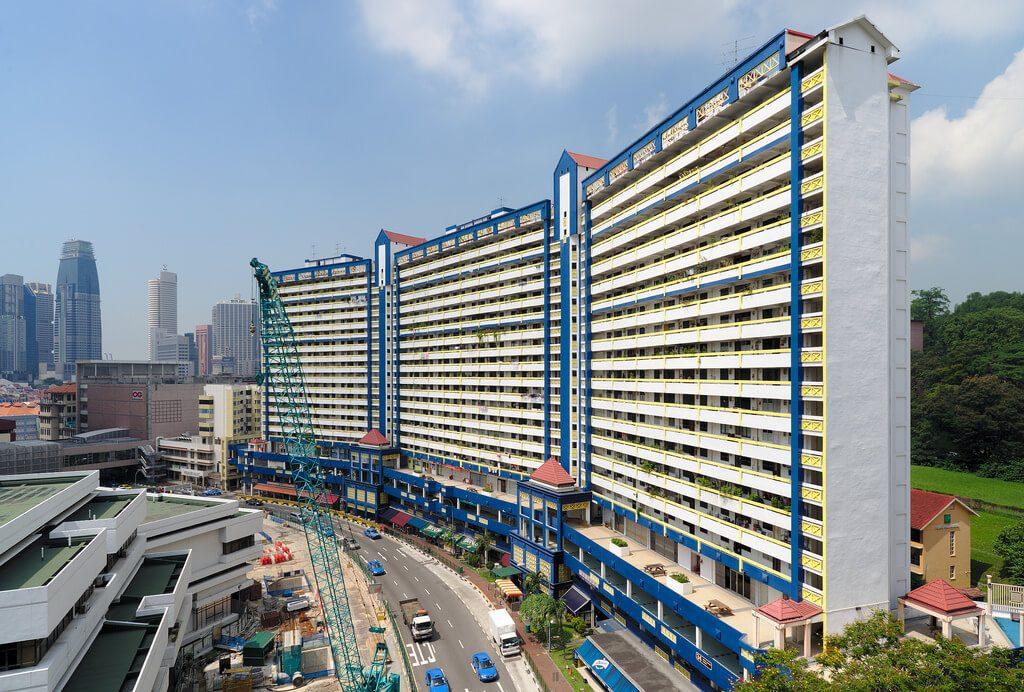 Bloki Komunalne w Singapurze czyli HDB