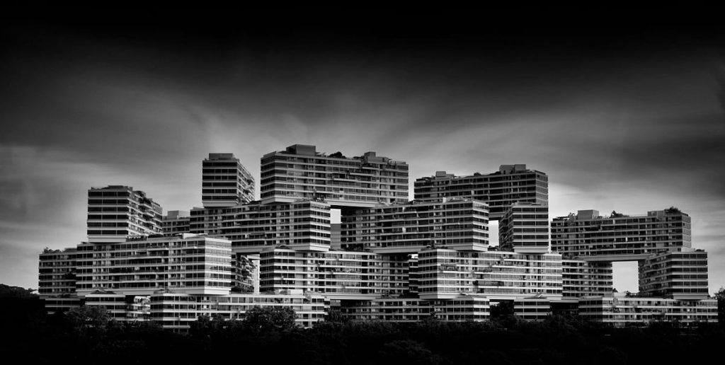 Budynek The Interlace w Singapurze czyli szuflandia na żywo