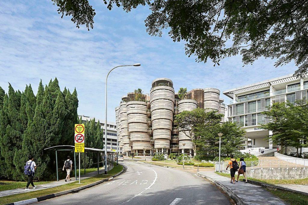 Learning Hub czyli wielki Ul w Singapurze - Architektura Singapuru