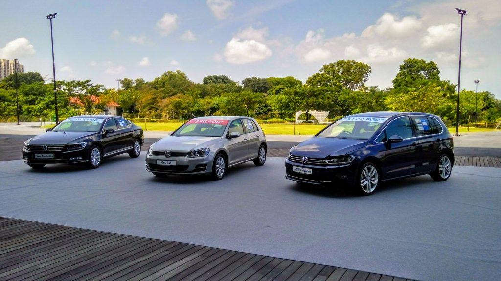 Samochody Volkswagena są w Singapurze dość popularne