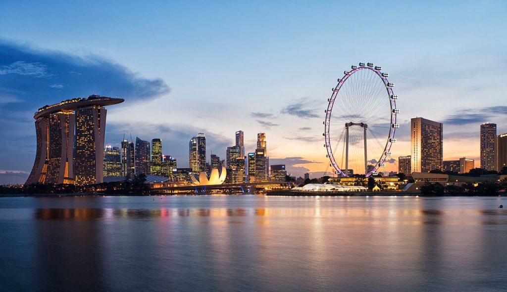 Singapur to miasto ze świetnie zaplanowaną panoramą