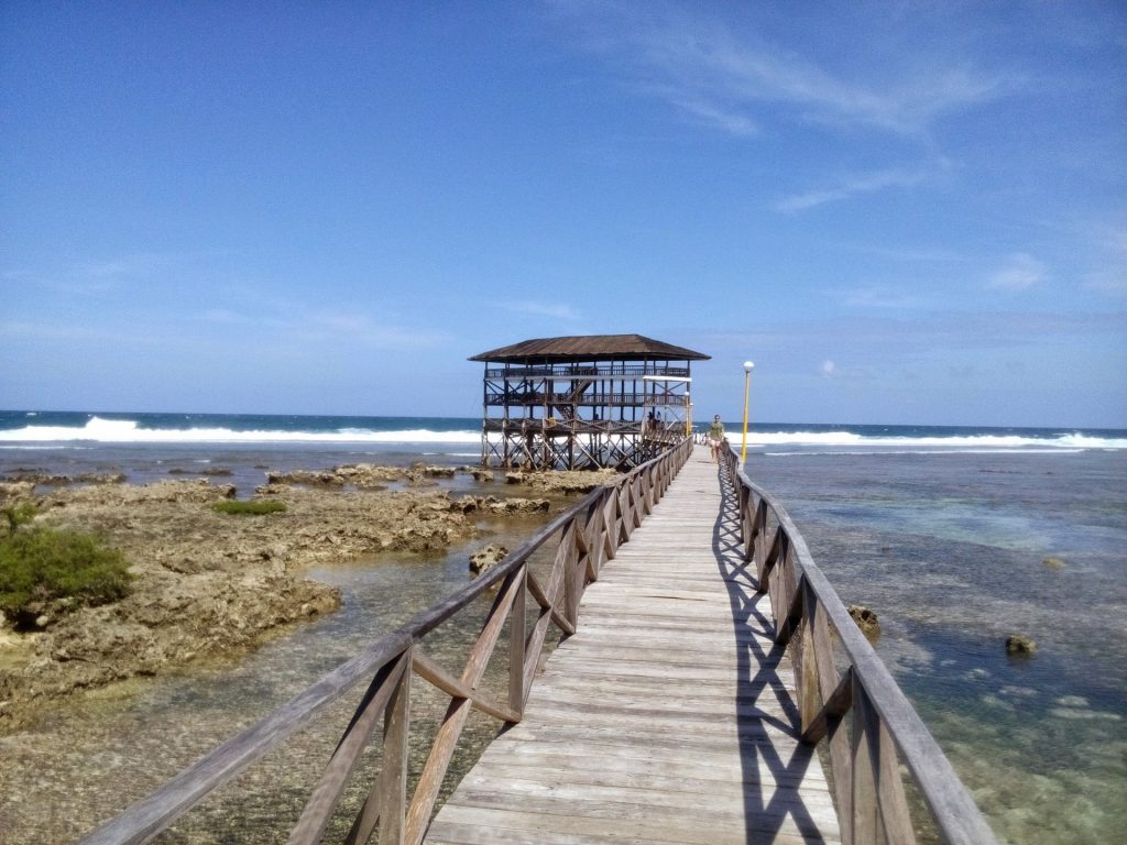 The Boardwalk czyli po polsku molo w General Luna na Siargao