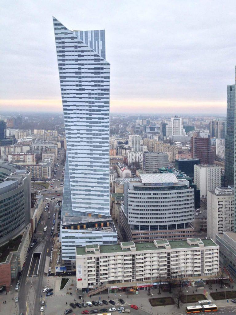 Złota 44 w Warszawie - budynek zaprojektowany przez Daniela Libskinda