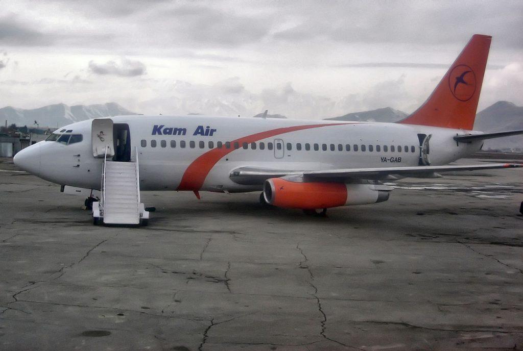 Samolot afgańskich linii lotniczych Kam Air