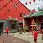 Świątynia taoistyczna w Kuching na Borneo